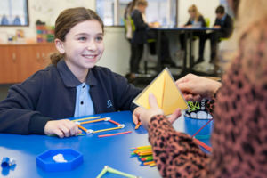 Students at St MIchael's Catholic Primary School Daceyville preparing for academic competitions